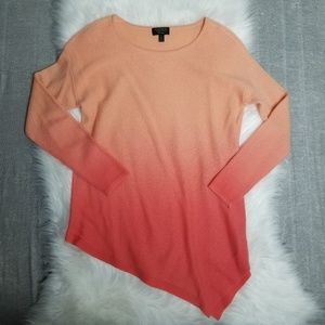 100% cashmere Charter Club ombre sweater